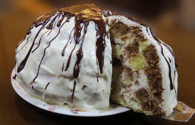 Панчо сметанный торт рецепт с пошагово в домашних условиях