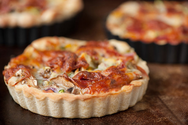 Тарталетки рецепты пиццы 2