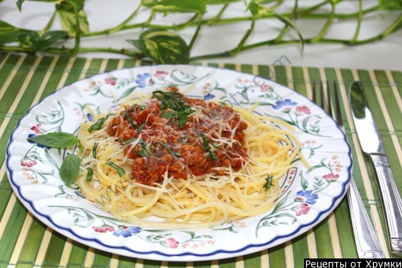 Соусы спагетти рецепты