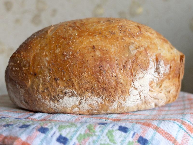 Хлеб в духовке своими руками рецепт