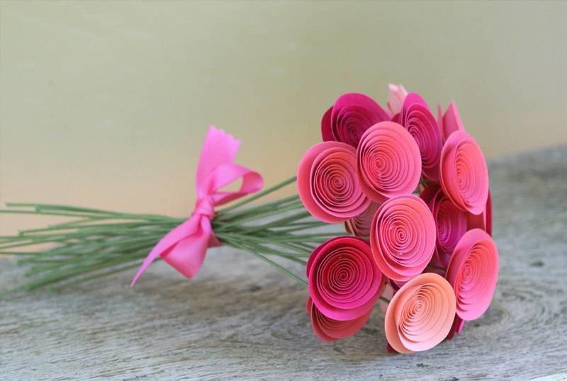Поделки из цветов легко и просто