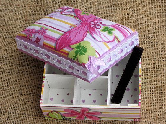 Разукрасить коробку