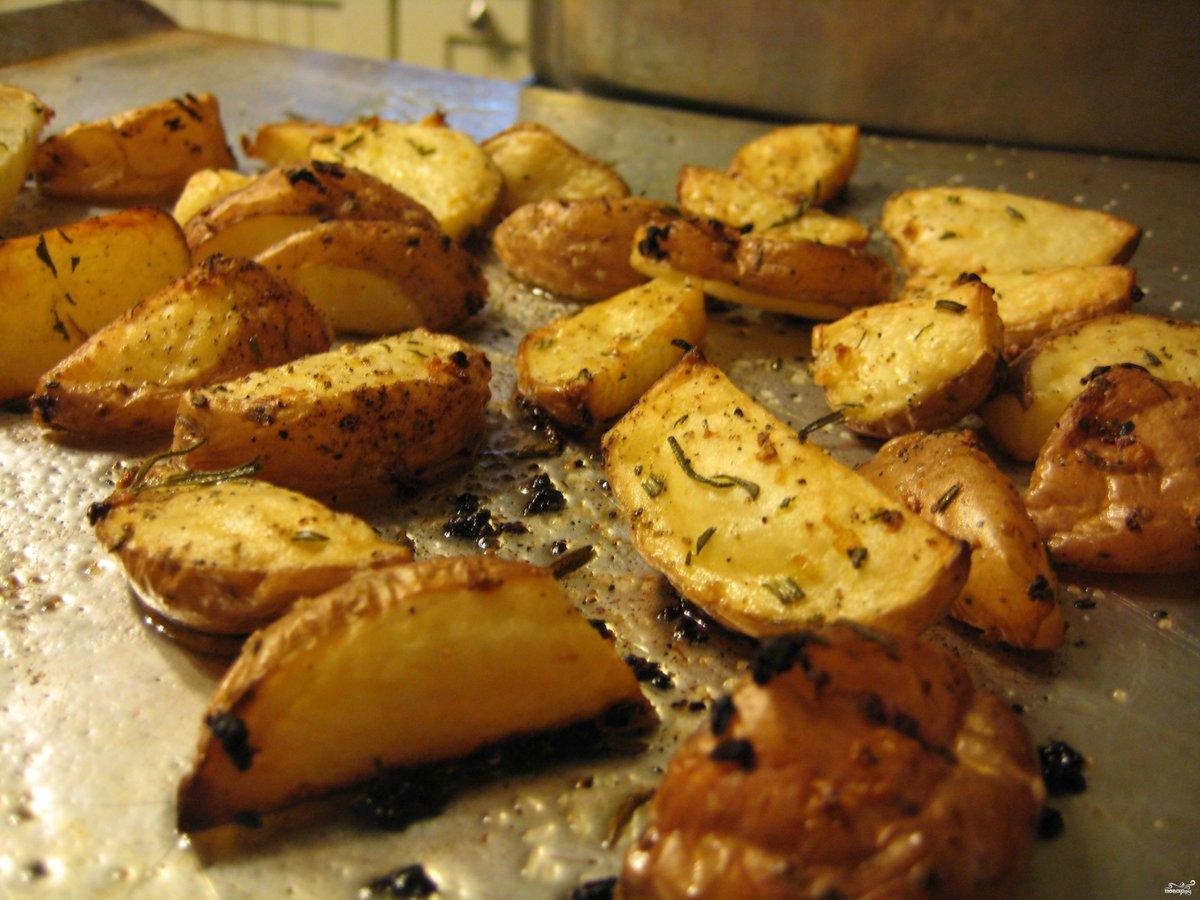 Как приготовить картошку в духовке рецепт