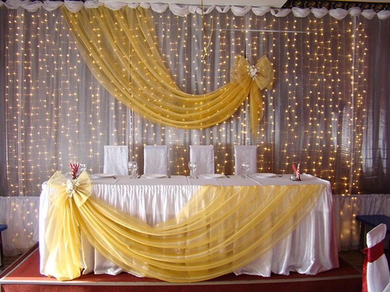 Драпировка свадебного стола своими руками пошагово 66