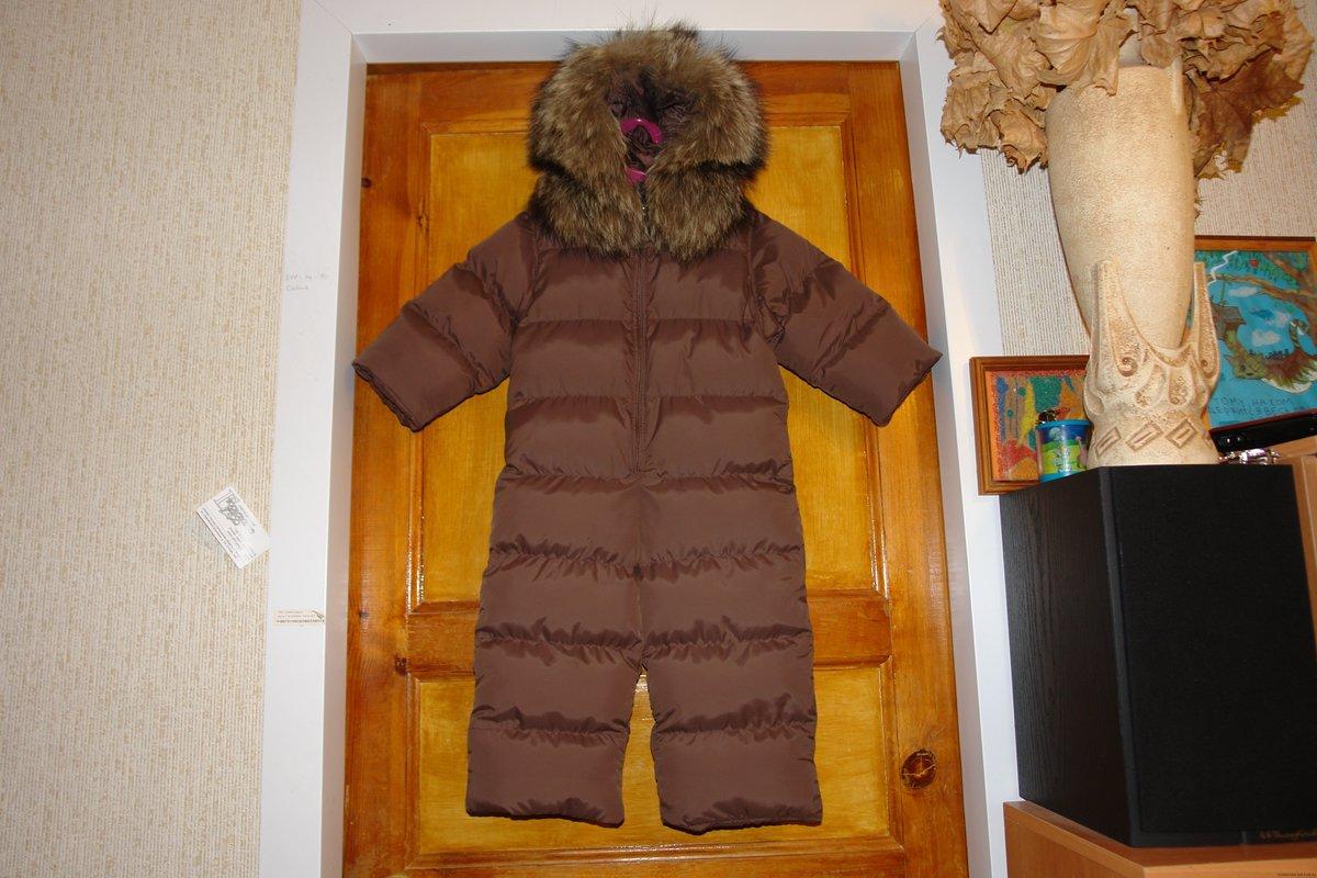 Зимний комбинезон для ребенка своими руками