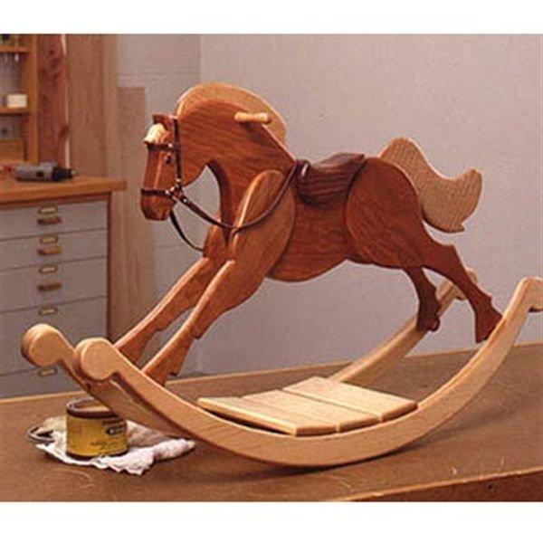 Лошадки из дерева для детей своими руками