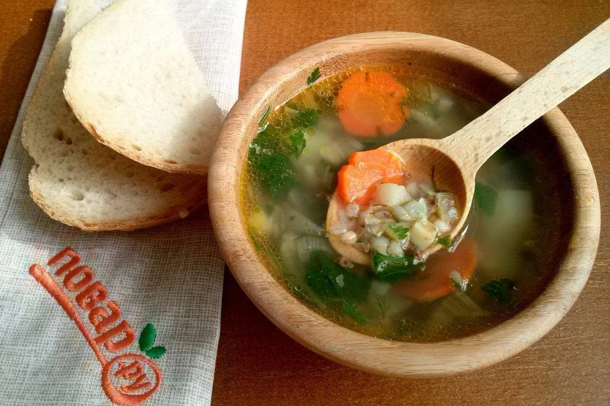 Рецепт гречневого супа с яйцом, мастер класс с фото 11