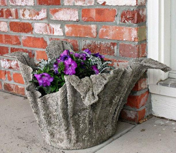 Садовая ваза своими руками мастер класс 27