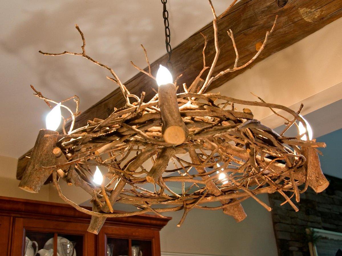Декоративные светильники из дерева своими руками фото 78