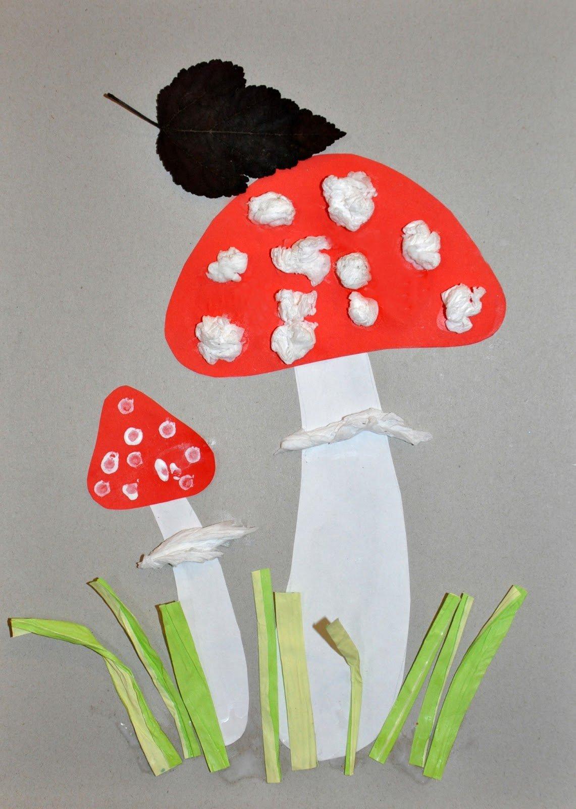 Выкройка грибов. Как сшить игрушку гриб своими руками / Мастер 86