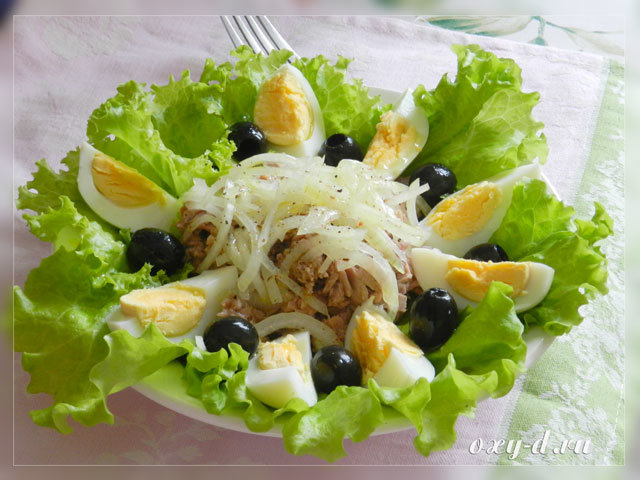 Легкие салаты и закуски рецепты с