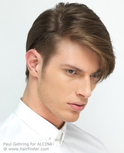 Длинные уши как прическа может мужчина