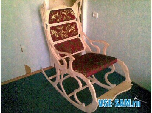 Как сделать кресло-качалка своими рукам 132