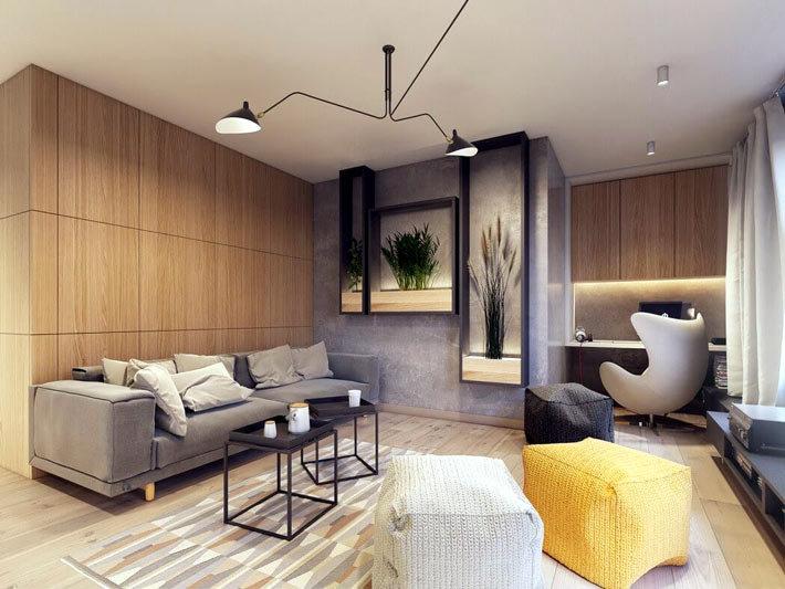 Модный дизайн-проект квартиры
