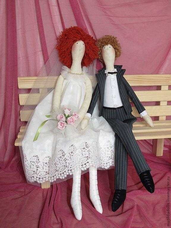 Своими руками невеста и жених кукла сшить 29