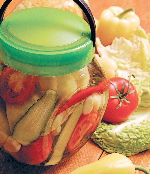 Заготовка иы овощей на зиму