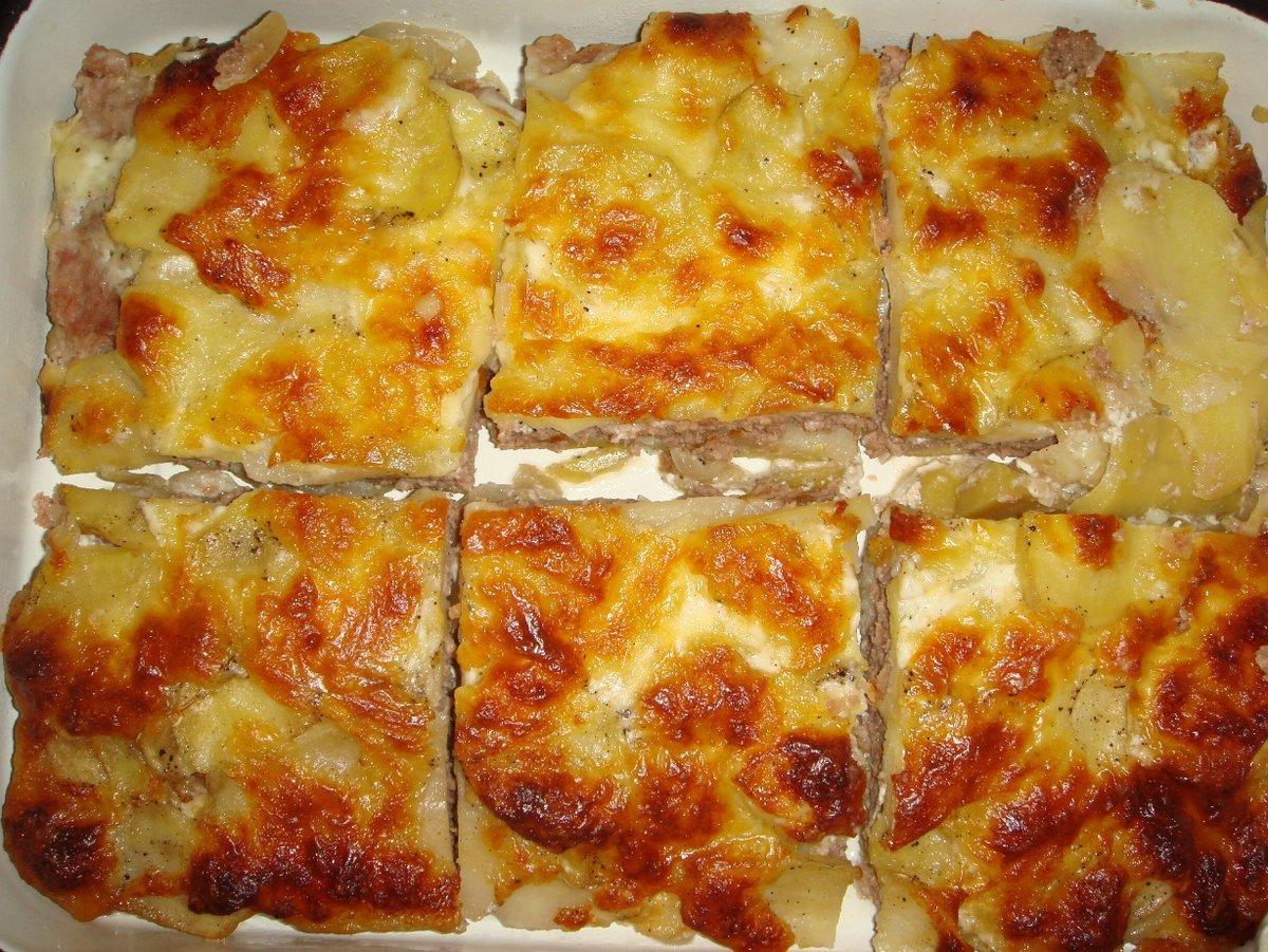 Картофельная запеканка с фаршем 5 лучших рецептов приготовления в духовке