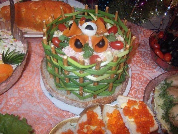 холодные закуски на новый год 2012 с фото