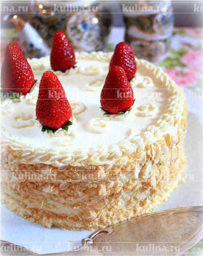 Рецепты торт клубничный с маскарпоне рецепт