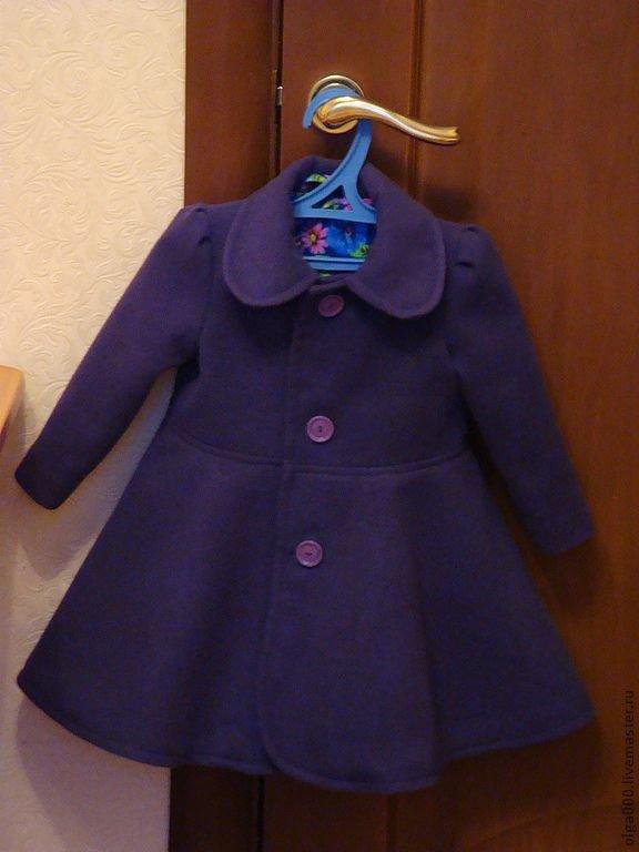 Мастер-класс по пошиву детского двубортного пальто Ярмарка