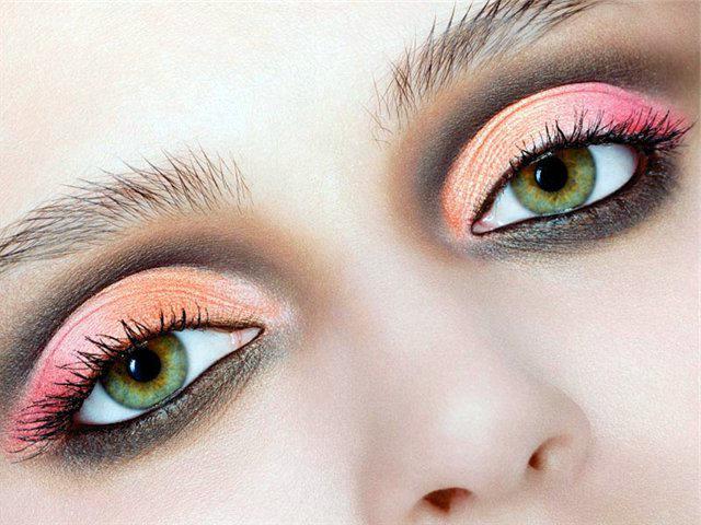 Фото макияжей для серо-зеленых глаз
