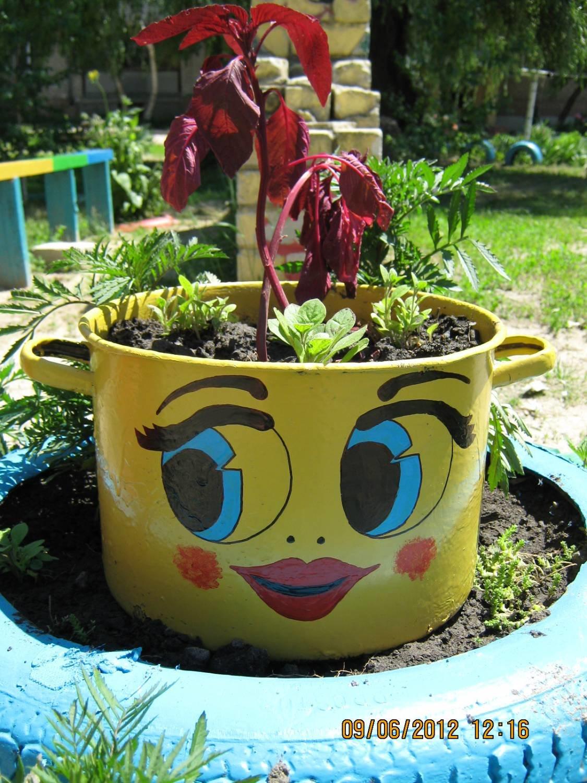 Поделки для сада своими руками из подручных средств фото