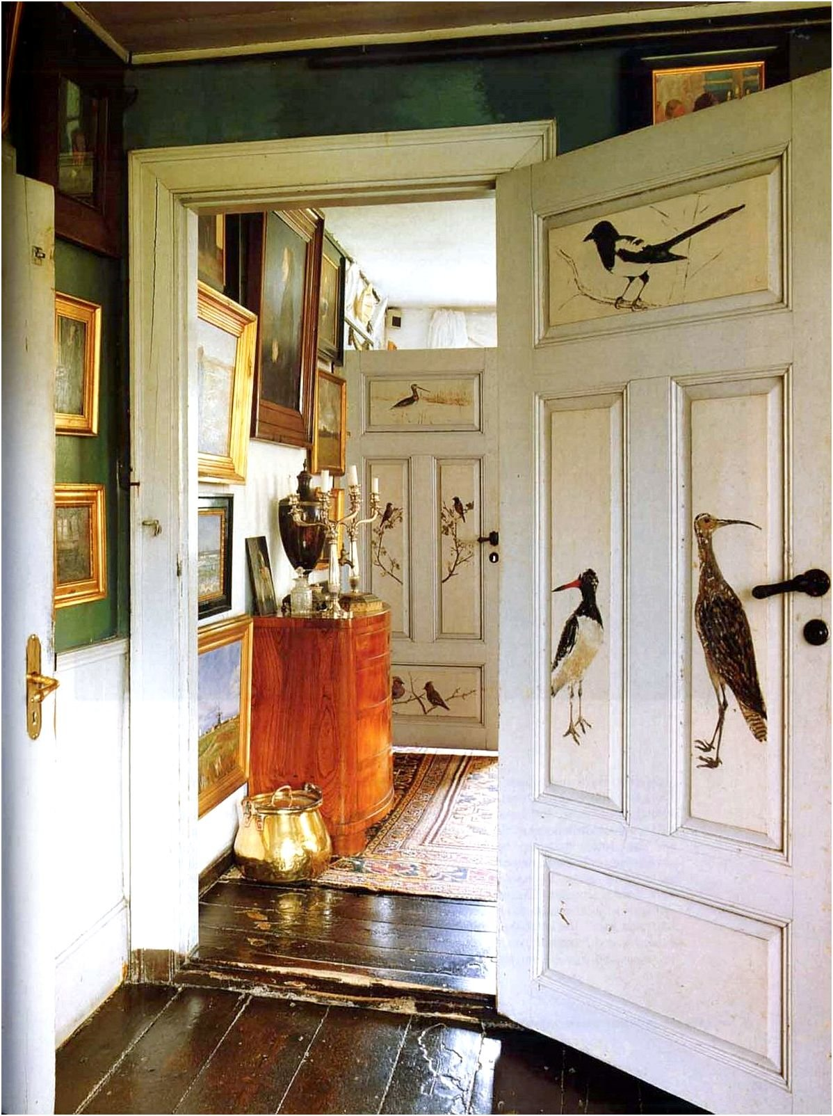 Идеи для декупаж двери своими руками 37