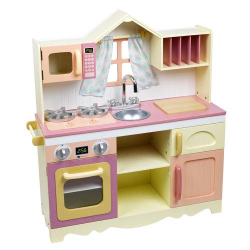 Детская кухня для девочек из дерева своими руками 3