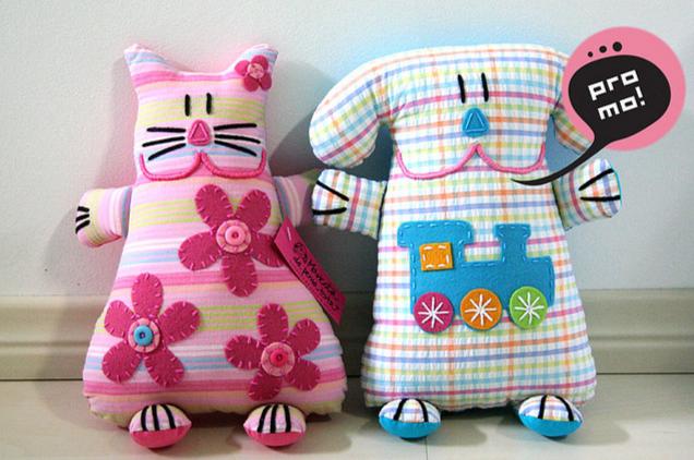 Мягкие игрушки подушки своими руками из ткани выкройки простые