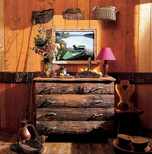Дизайн дачного дома из подручных материалов