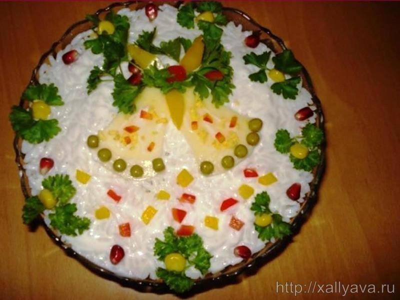 Домашние рецепты салатов к новому году