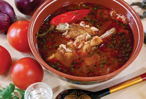Грузинские супы рецепт