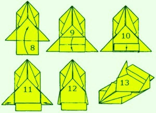Как сделать оригами из бумаги поэтапно машину