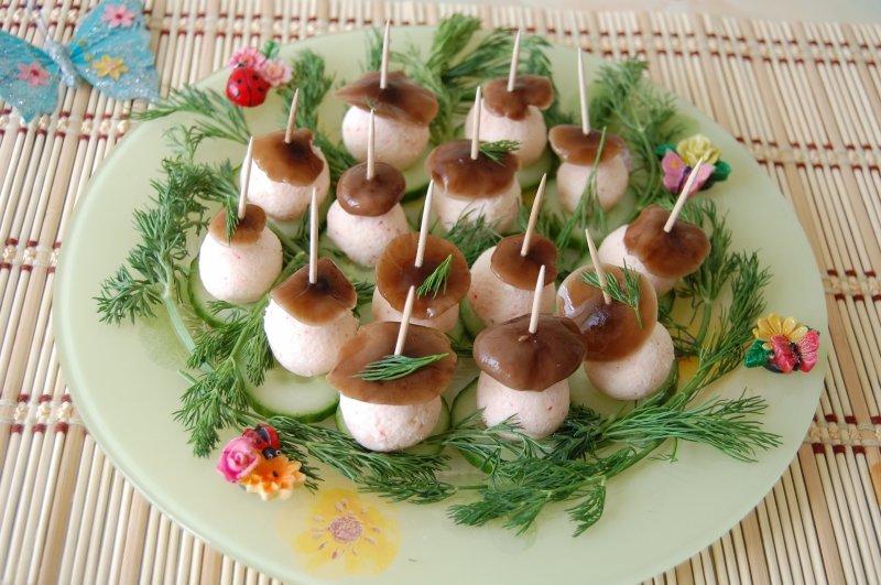 Летние закуски рецепты для праздничного стола