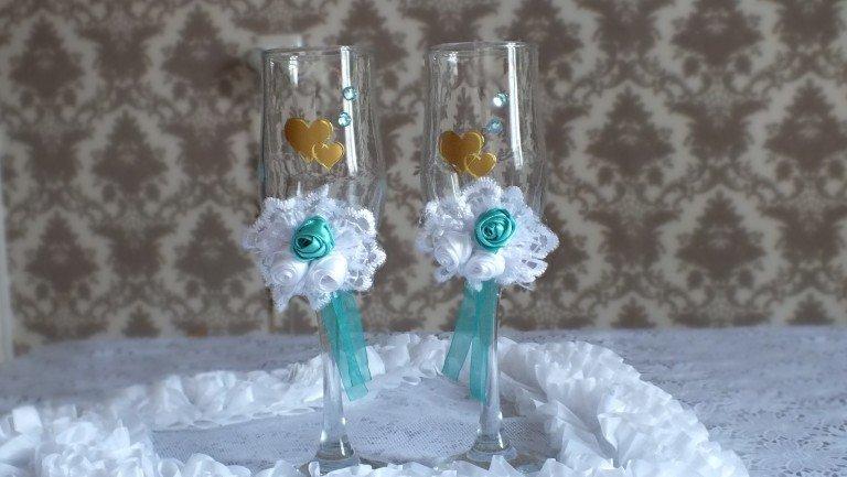 Как украсить свадьбу своими руками мастер класс 64