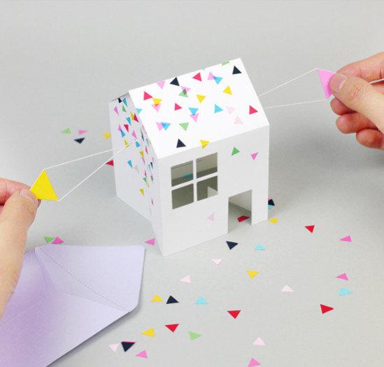 Как сделать из бумаги подарок на день рождения для начинающих