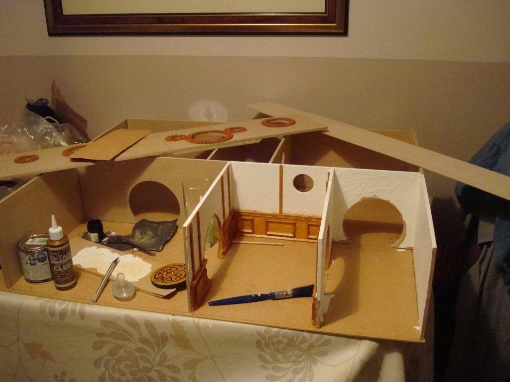 Домик для хомяков своими руками из картона