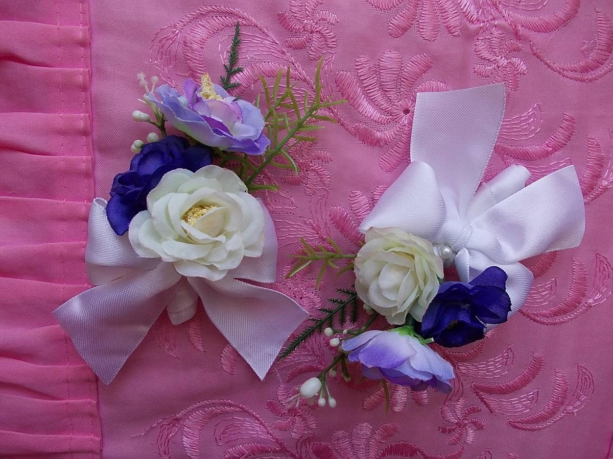 Цветок для свидетелей своими руками 27
