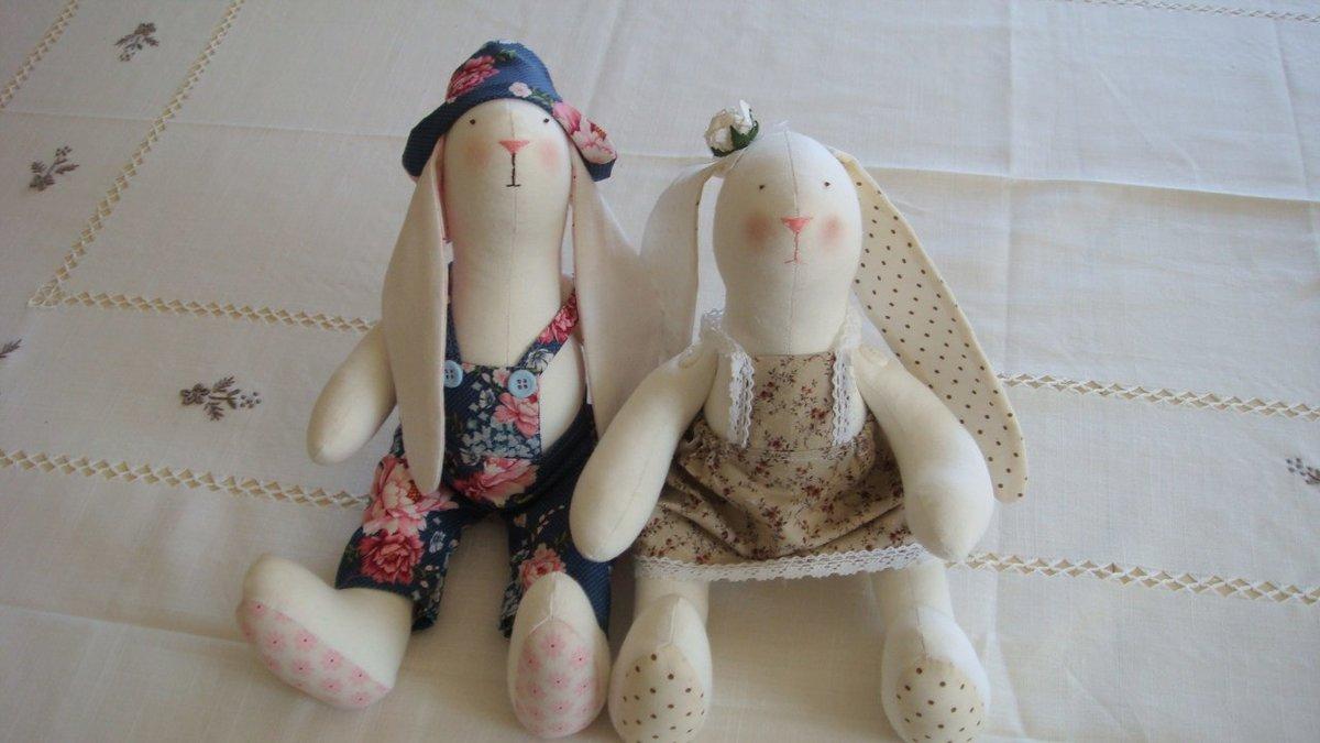 Кролики куклы своими руками 27