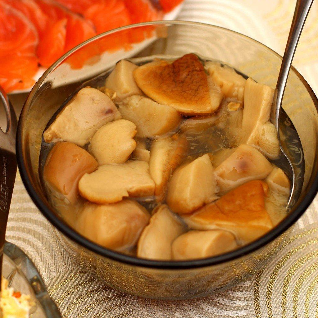 Грибочки маринованные рецепт