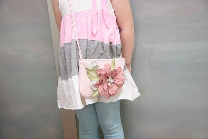 Маленькая сумка для девочки своими руками 71