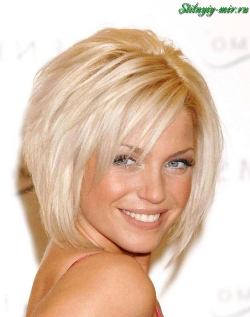 Стрижки для блондинки 35 лет