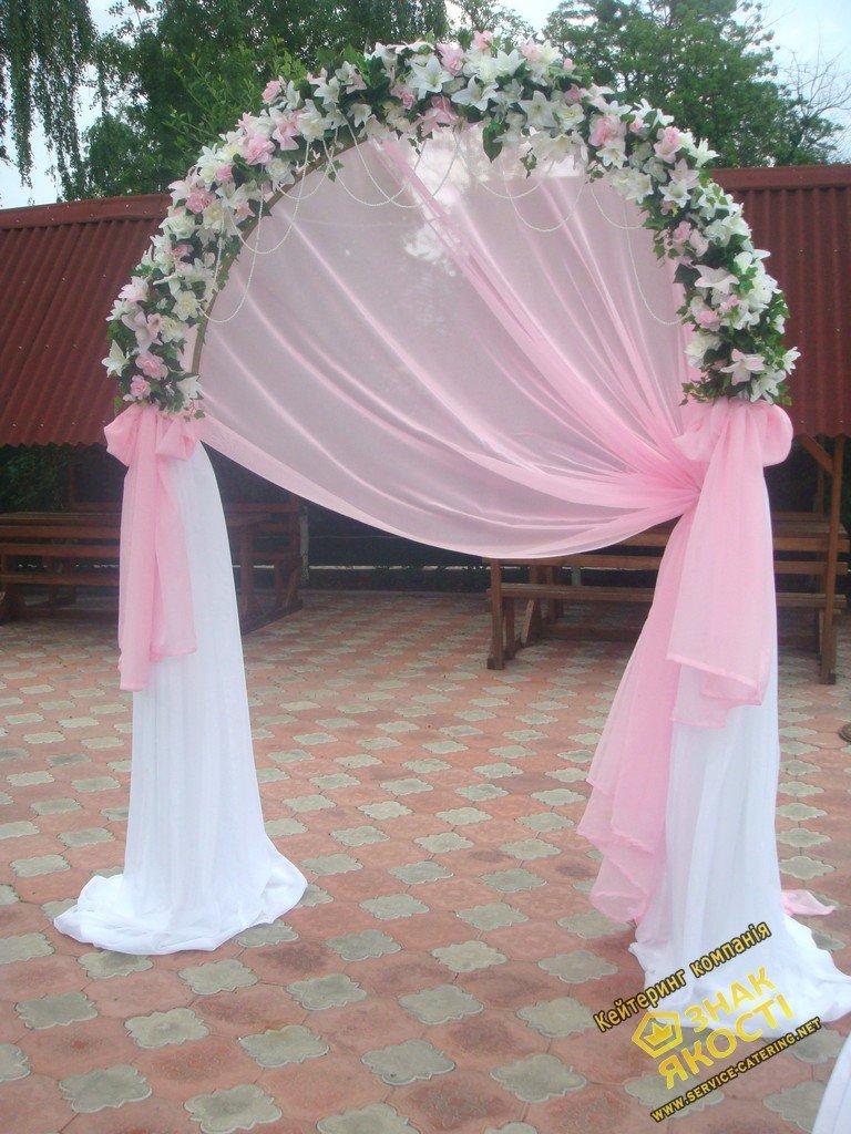 Свадебные арки своими руками в фото