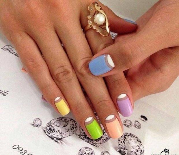 Интересные дизайны ногтей гель лак