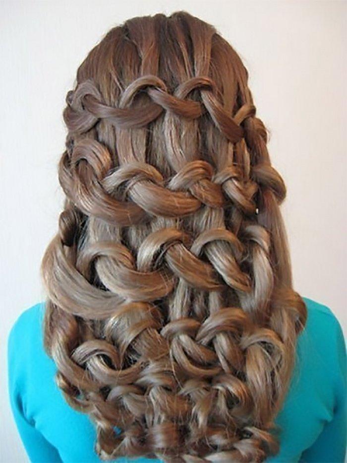 Красивые прически с плетением косы фото 79