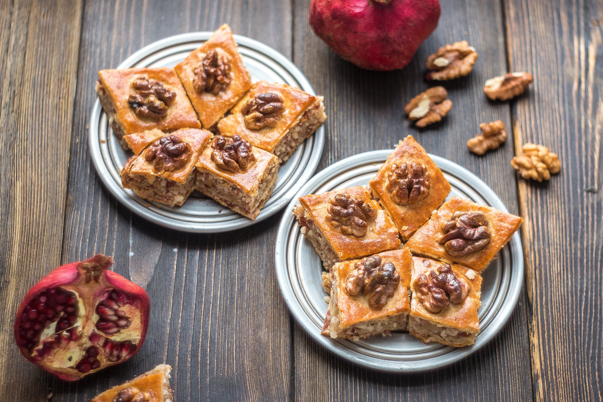 Восточные сладости - 83 рецепта приготовления пошагово 18