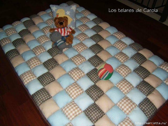 Как сшить одеяло из квадратиков своими руками 89