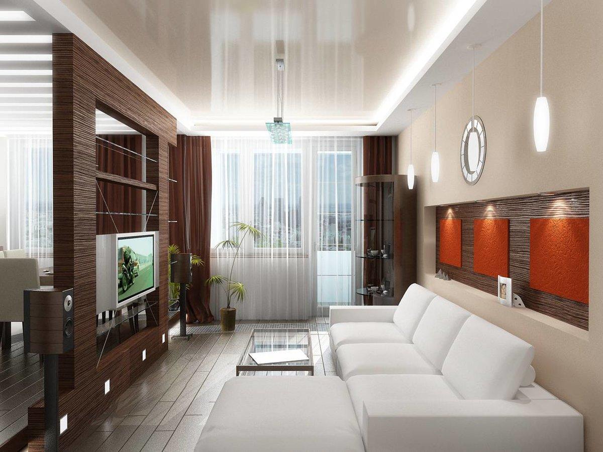 Дизайн зала зонирование