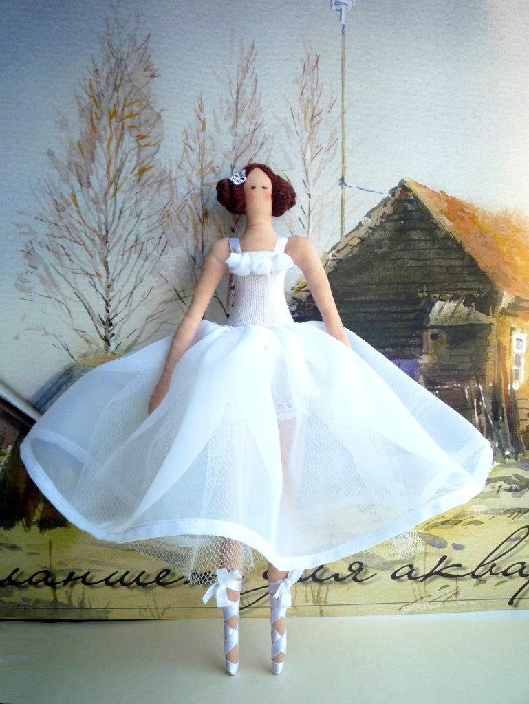Мастер класс по тильда балерине