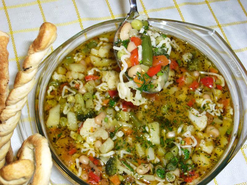 Суп минестроне рецепт пошагово с фото